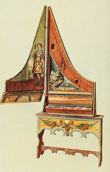 Musical Instruments - Clavicytherium or Upright Spinet (1921)