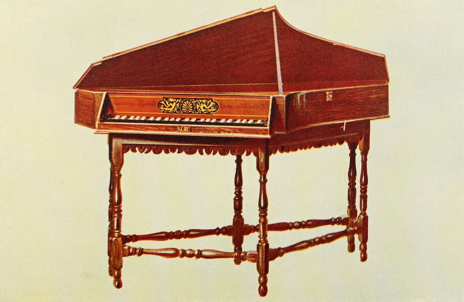 Musical Instruments - Spinet (1921)