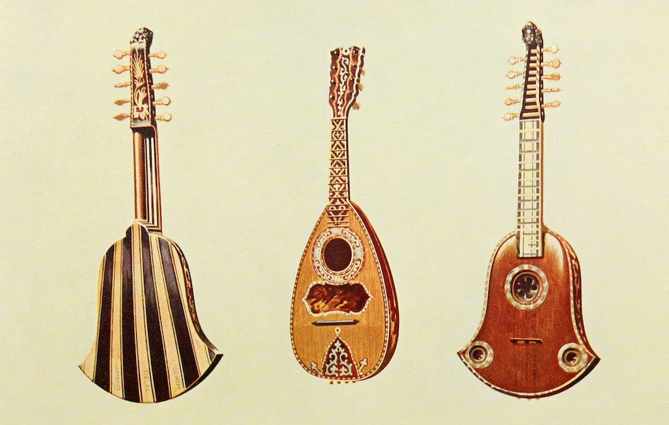 Musical Instruments - Quinterna and Mandoline (1921)