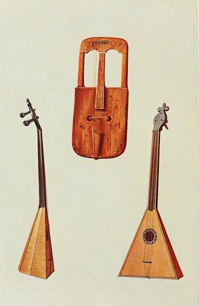 Musical Instruments - Welsh Crwth. Russian Balalaika (1921)