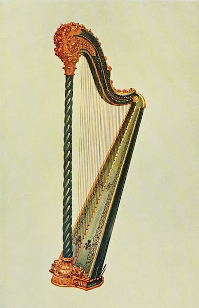 Musical Instruments - Pedal Harp (1921)