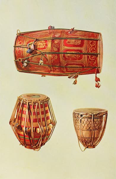 Musical Instruments - Indian Drums (1921)