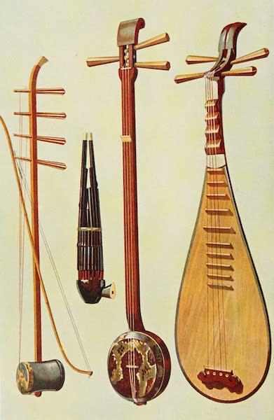 Musical Instruments - Hu-ch'in and Bow. Sheng. San-hsien. P'i-p'a (1921)