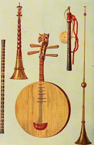 Musical Instruments - Chinese Ti-tzu, So-na, Yueh-ch'in. Japanese Hiji-riki. Chinese La-pa (1921)