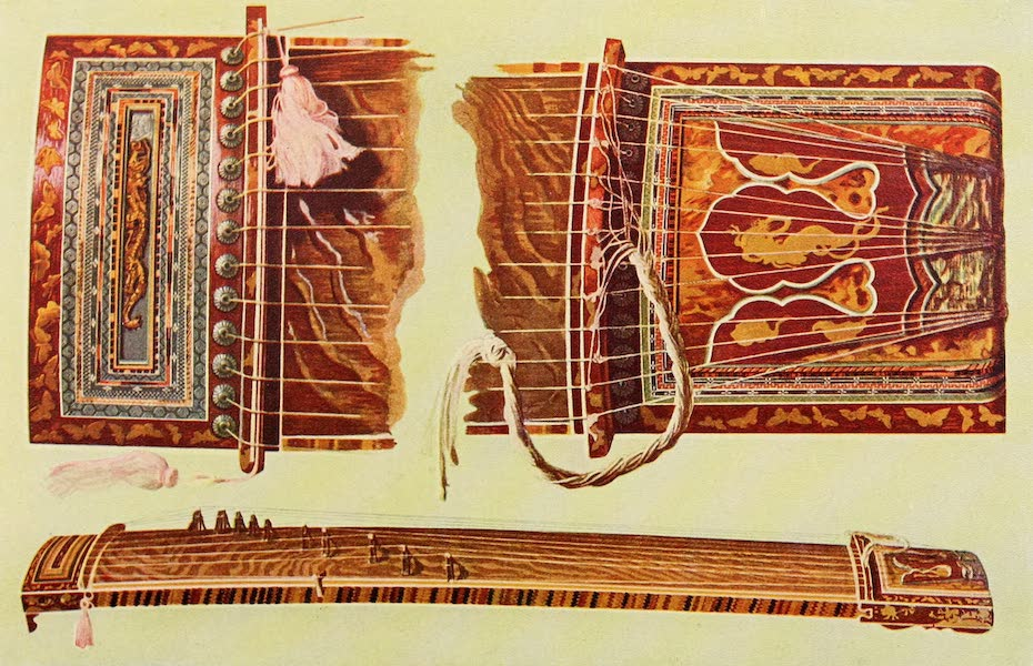 Musical Instruments - Japanese Koto (1921)