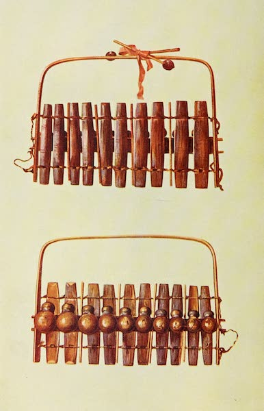 Musical Instruments - Marimba Of South Africa (1921)