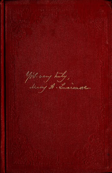 My Story of the War - Front Cover (1889)
