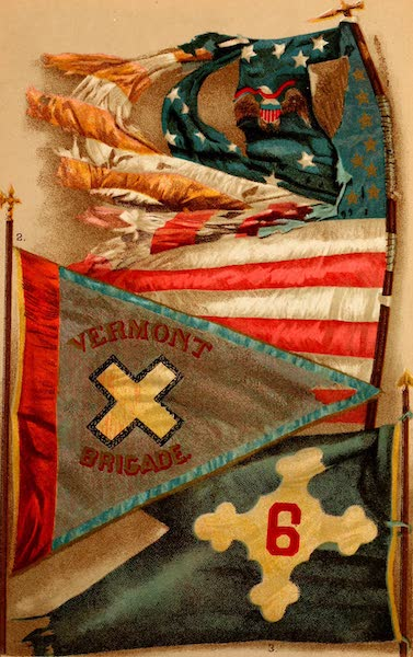My Story of the War - Famous Union Battle Flags I (1889)