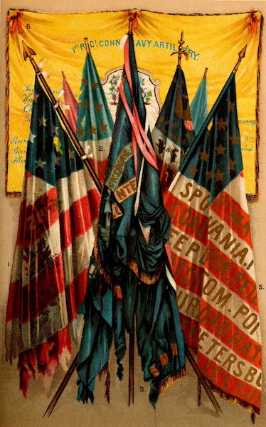 My Story of the War - Famous Union Battle Flags II (1889)
