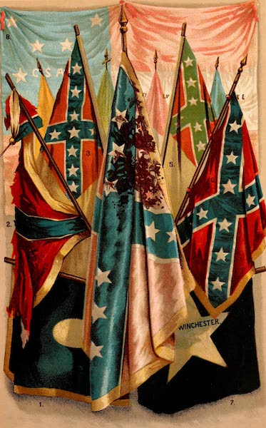 My Story of the War - Confederate Battle Flags (1889)