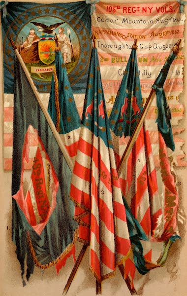 My Story of the War - Famous Union Battle Flags IV (1889)