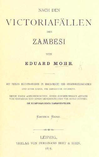 Aquatint & Lithography - Nach den Victoriafallen des Zambesi