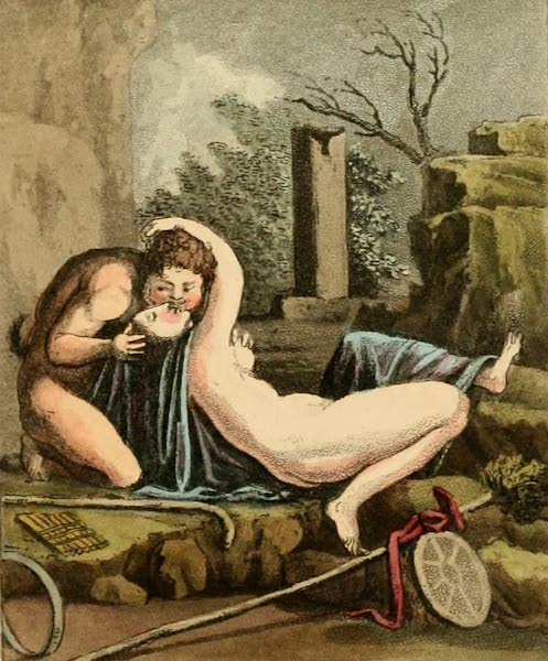 Naples and the Campagna Felice - Ancient Greek Paintings from Herculaneum (II) (1815)