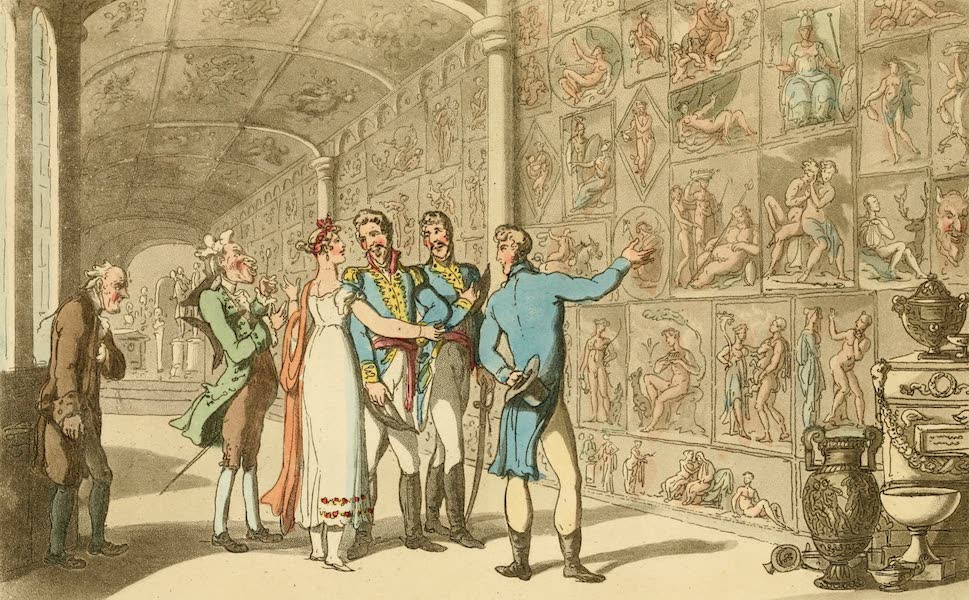 Naples and the Campagna Felice - Don Luigi meets Donna Anna in the Museum (1815)