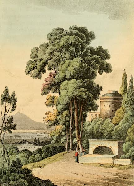 Naples and the Campagna Felice - A view near Naples (1815)
