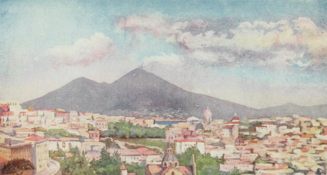 Naples, Painted and Described - Naples, from the Parco Grifeo (1904)