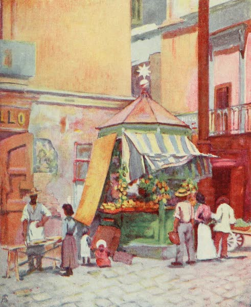 Naples, Painted and Described - On the Marina, Naples (1904)