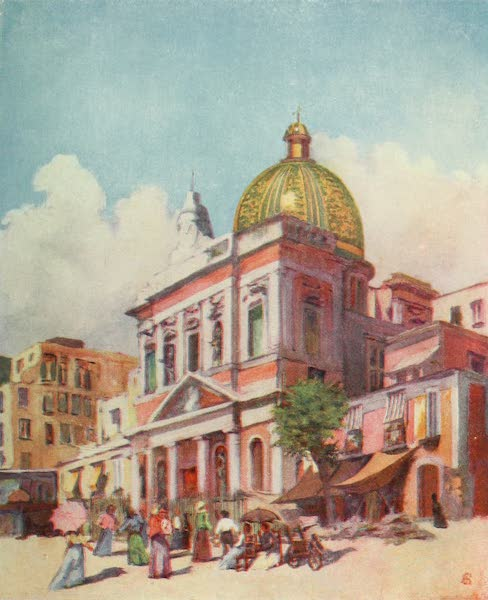 Naples, Painted and Described - Church of S. Croce, Naples (1904)