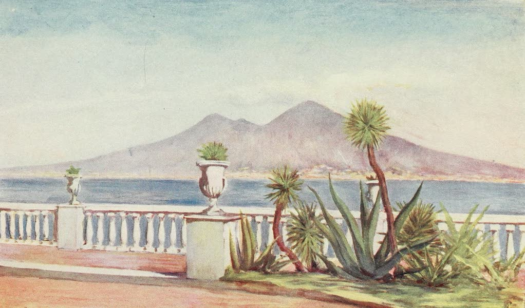 Naples, Painted and Described - The Villa Gallotti, Posillipo (1904)