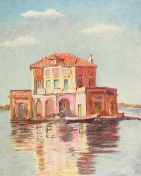 Naples, Painted and Described - Old Pavilion of the Lago di Fusaro (1904)