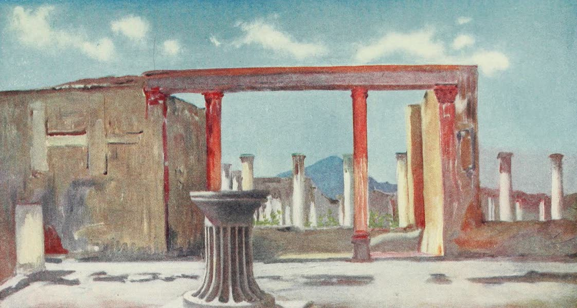 Naples, Painted and Described - House of the Faun, Pompeii (1904)