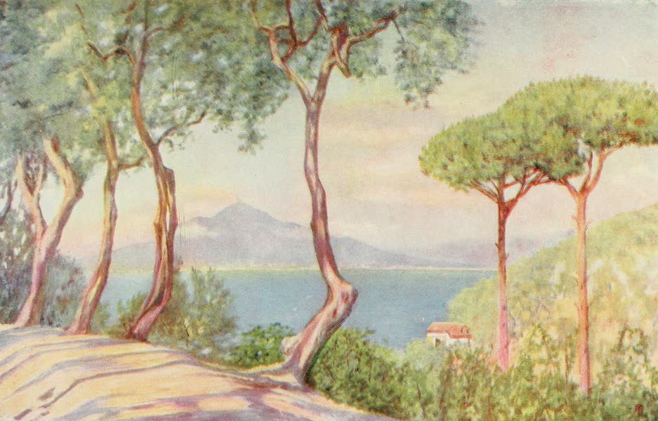 Naples, Painted and Described - On the Road to Massa (1904)