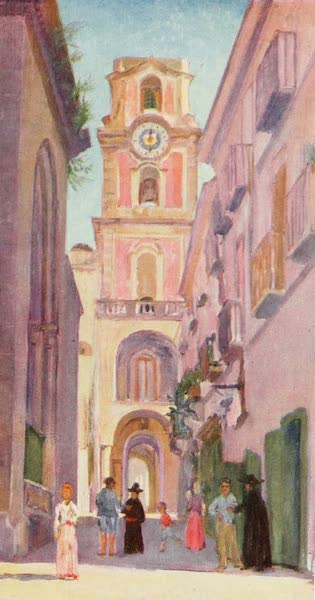Naples, Painted and Described - Clock Tower of Sorrento (1904)