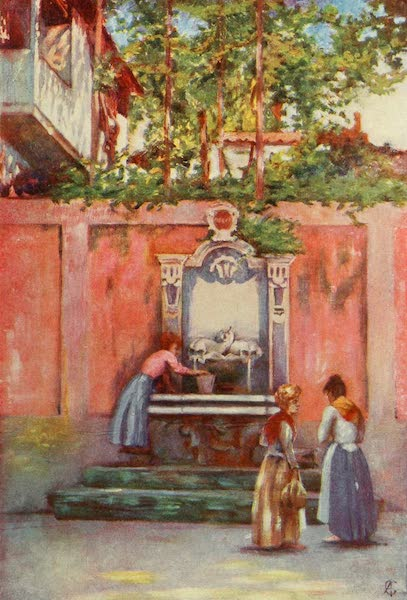 Naples, Painted and Described - Fountain in Sorrento (1904)