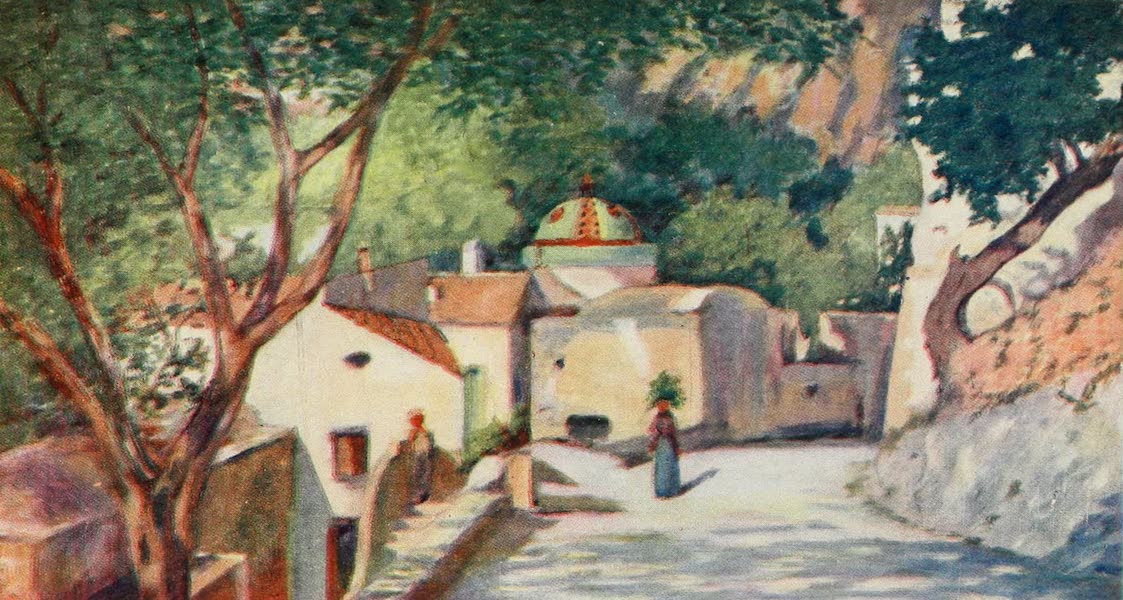 Naples, Painted and Described - Street of Positano (1904)