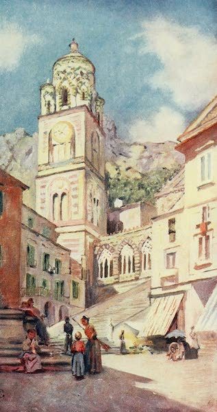 Naples, Painted and Described - Cathedral of Amalfi (1904)