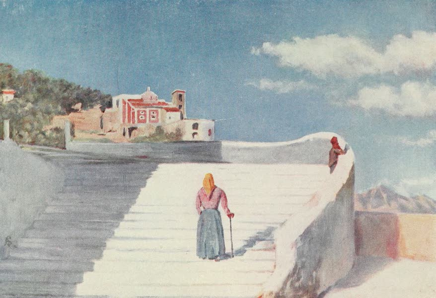 Naples, Painted and Described - The Street of Atrani (1904)