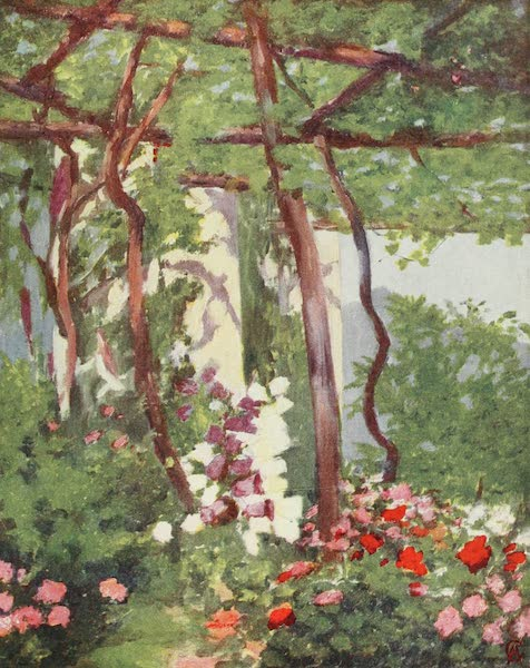 Naples, Painted and Described - Garden in the Villa Palumbo, Ravello (1904)