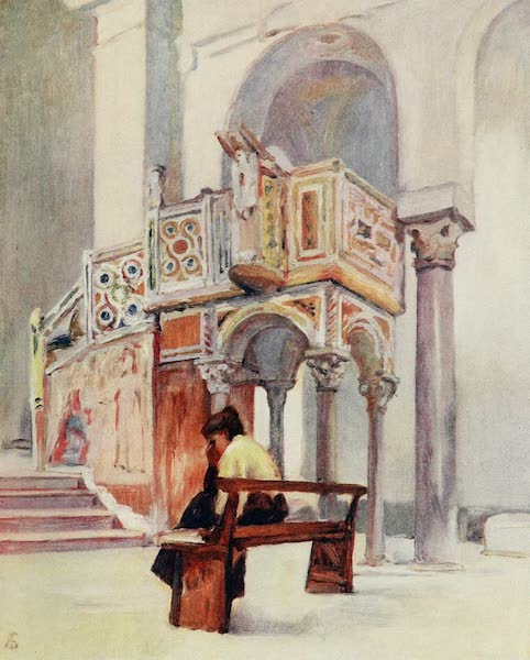 Naples, Painted and Described - Pulpit of S. Giovanni del Toro, Ravello (1904)