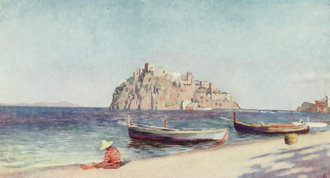 Naples, Painted and Described - Castle of the Pescara, Ischia (1904)