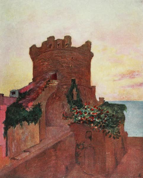 Naples, Painted and Described - The Torrione, Forio, Ischia (1904)