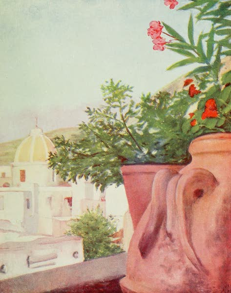 Naples, Painted and Described - View of Forio, Island of Ischia (1904)