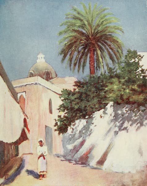 Naples, Painted and Described - Street in Capri (1904)