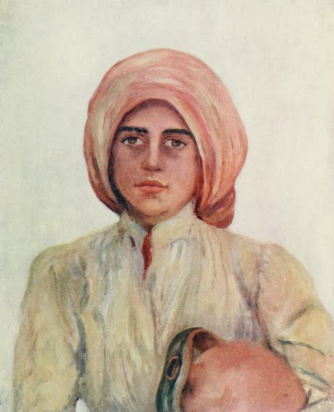 Naples, Painted and Described - Peasant Girl of Capri (1904)