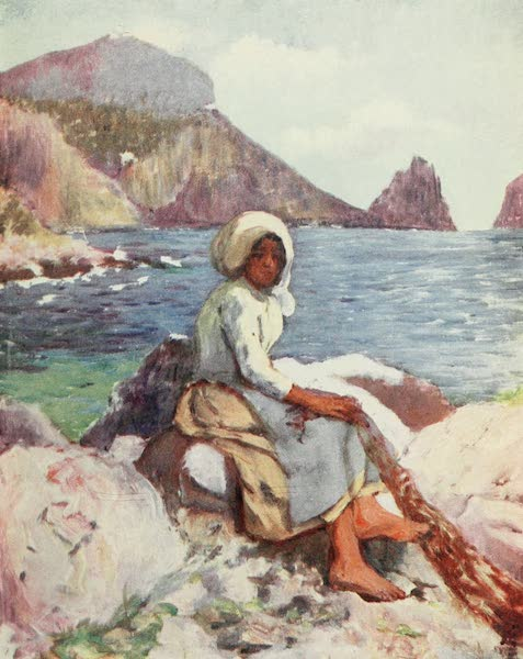 Naples, Painted and Described - Fisher Girl of Capri (1904)