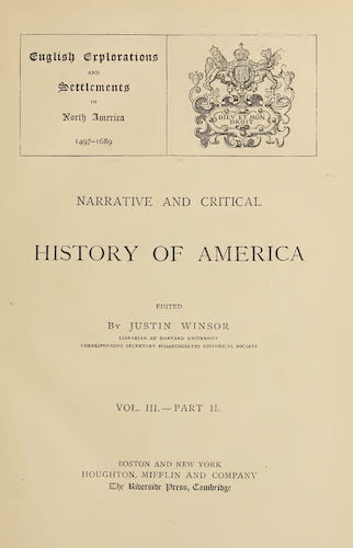 English - Narrative and Critical History of America Vol. 3, Pt. 2