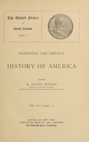 New World - Narrative and Critical History of America Vol. 6, Pt. 1