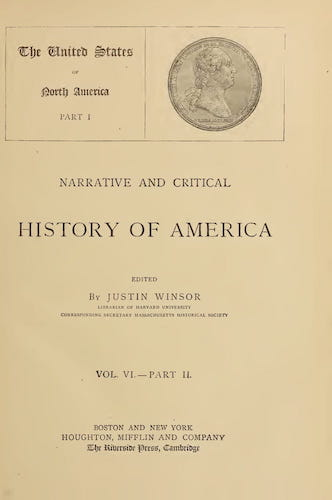 New World - Narrative and Critical History of America Vol. 6, Pt. 2