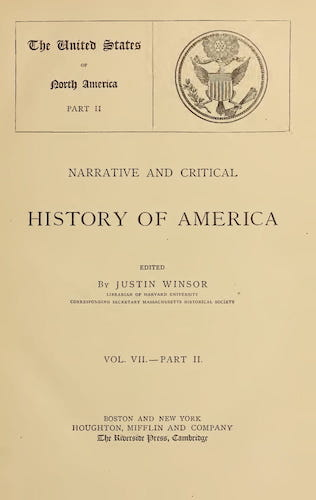 English - Narrative and Critical History of America Vol. 7, Pt. 2