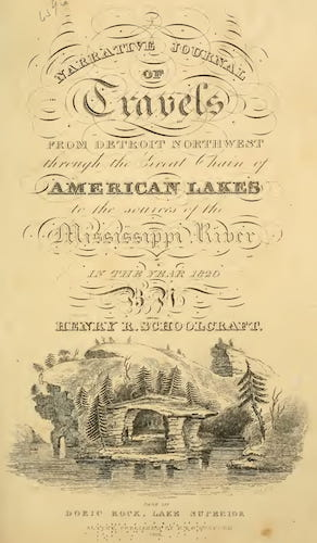 New York Public Library - Narrative Journal of Travels Through the Northwestern Regions of the United States