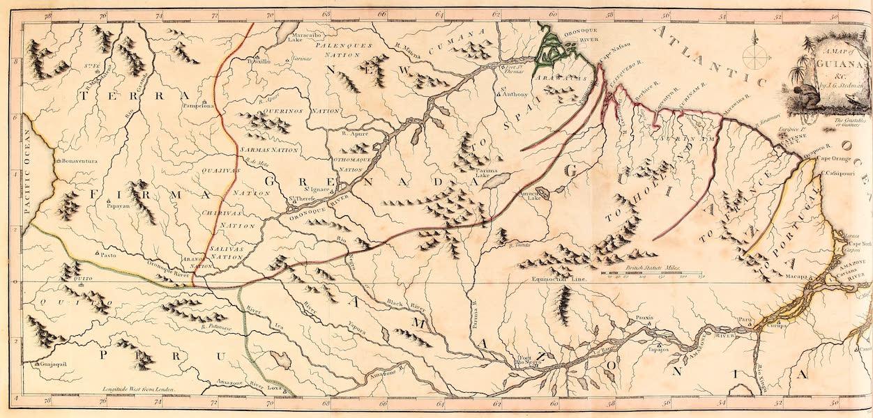 A Map of Guiana