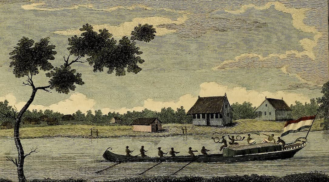Representation of a Tent Boat, or Plantation Barge