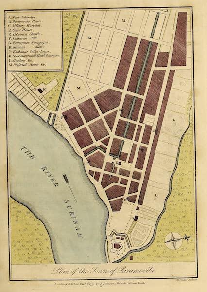 Plan of the Town of Paramaribo