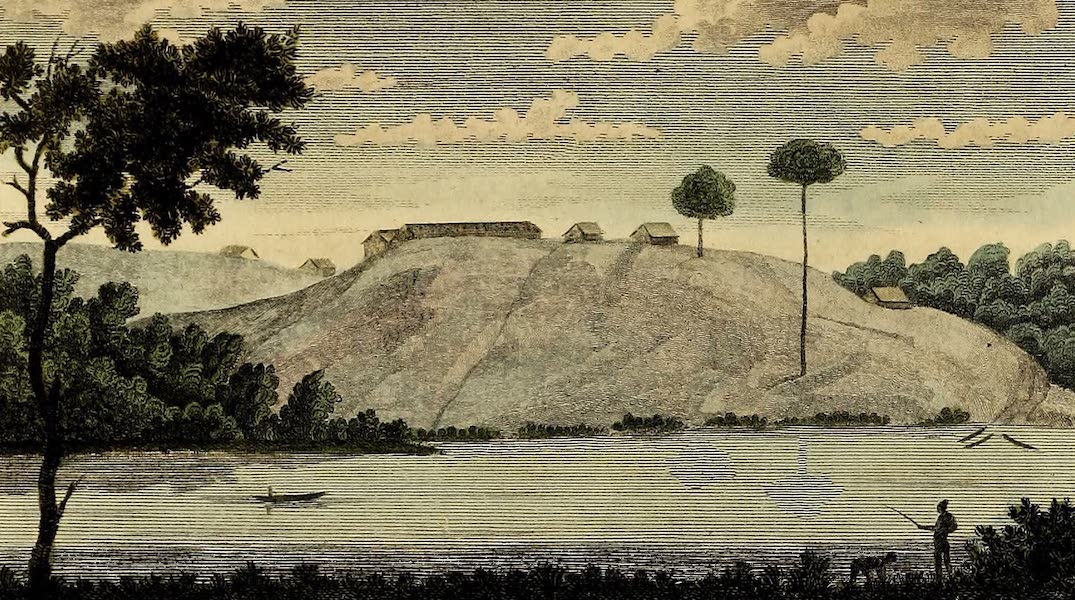 Narrative, of a Five Years Expedition Vol. 2 - View of Magdenbergh, on Tempate Creek (1796)