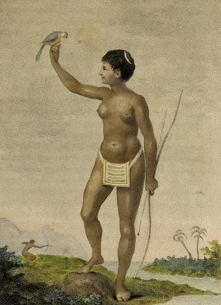 Indian Female of the Arrowauka Nation