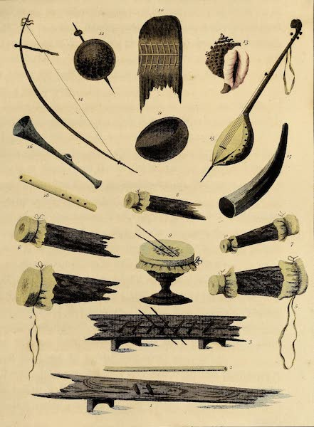 Musical Instruments of the Afrocan Negroes